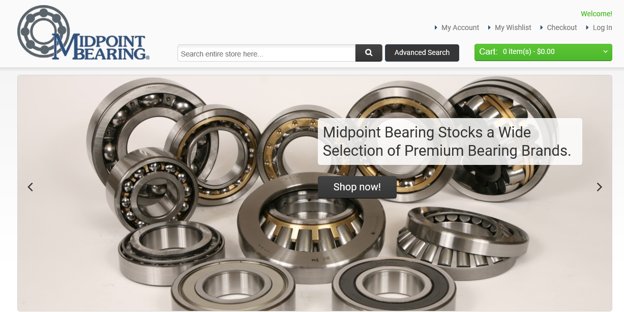 Home - Midpoint Bearing